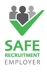 Safe Recruitment Trusted Employer Logo